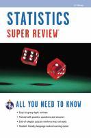 Statistics Super Review