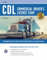 CDL Commercial Driver's License Exam