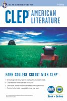 CLEP American Literature Book + Online