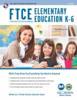 FTCE Elementary Education K-6 Book + Online