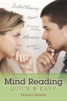 Mind Reading Quick & Easy