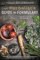 An Herbalist's Guide to Formulary