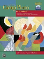 Alfred's Group Piano for Adults