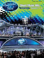 American Idol Sheet Music Hits