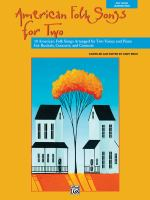 American Folk Songs for Two