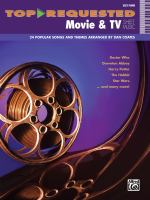 Top Requested Movie & TV Sheet Music