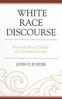 White Race Discourse