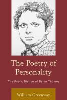 The Poetry of Personality