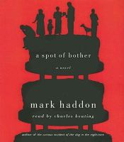 Book CD cover of A Spot of Brother by Mark Haddon.