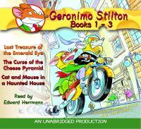 Geronimo Stilton, Books 1-3