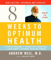 Image: Eight Weeks to Optimum Health