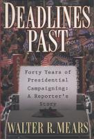 Deadlines Past