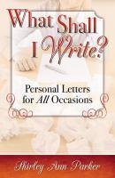 What Shall I Write?