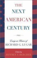 The Next American Century
