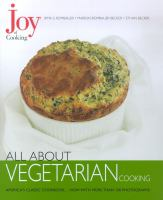All About Vegetarian Cooking