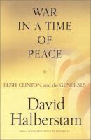War in A Time of Peace