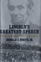 Lincoln's Greatest Speech