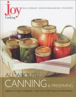 All About Canning & Preserving