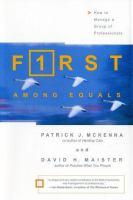 F1rst Among Equals