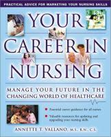 Your Career in Nursing