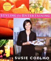 Susie Coelho's Styling for Entertaining