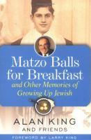 Matzo Balls for Breakfast