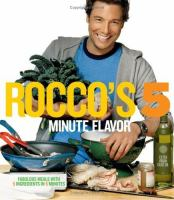 Rocco's 5 Minute Flavor