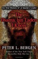 The Osama Bin Laden I Know