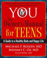 You, the Owner's Manual for Teens