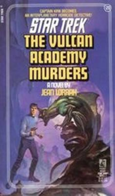 Cover image for The Vulcan Academy Murders