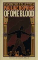 Of One Blood, Or, The Hidden Self