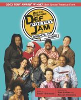 Russell Simmons Def Poetry Jam on Broadway-- and More