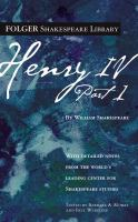 The History of Henry IV, Part 1