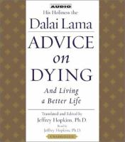 Advice on Dying and Living A Better Life