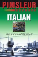 Pimsleur express Italian