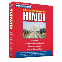 Pimsleur conversational Hindi