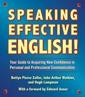 Speaking Effective English