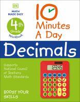 10 Minutes a Day, Decimals. 4th grade workbook