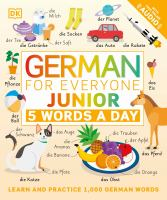 German for everyone : junior : 5 words a day.