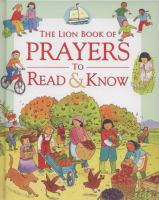 The Lion Book of Prayers to Read & Know