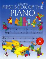 The Usborne First Book of the Piano With CD