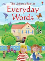 The Usborne Book of Everyday Words