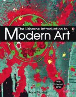 The Usborne Introduction to Modern Art