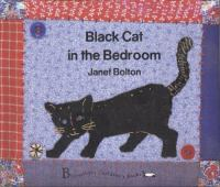 Black Cat in the Bedroom