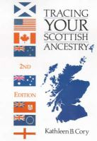 Tracing Your Scottish Ancestry