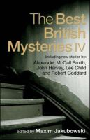 The Best British Mysteries IV