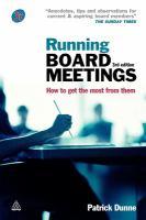Running Board Meetings