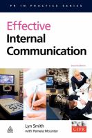 Effective Internal Communication, Second Edition