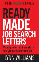 Readymade Job Search Letters