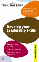 Develop your Leadership Skills, Revised Edition